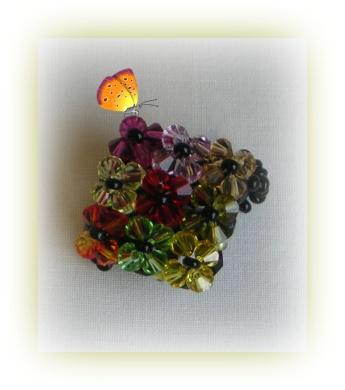 anillo colorines cuadrado