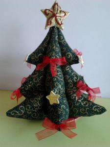 arbolito navideño verde