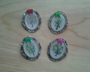 broches arboles